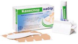 продажа противогрибкового препарата Канеспор набор